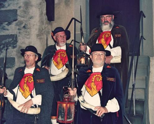 Bild: bg Die Bischofszeller Nachtwächter sind am kommenden Samstag wieder in Bischofszell unterwegs.